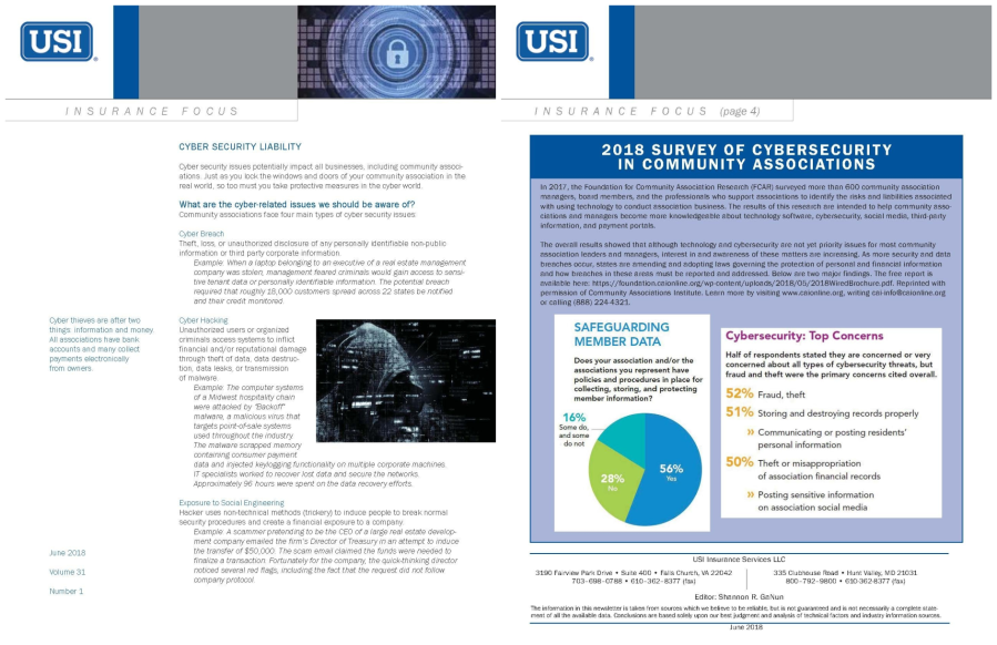 USI Newsletter